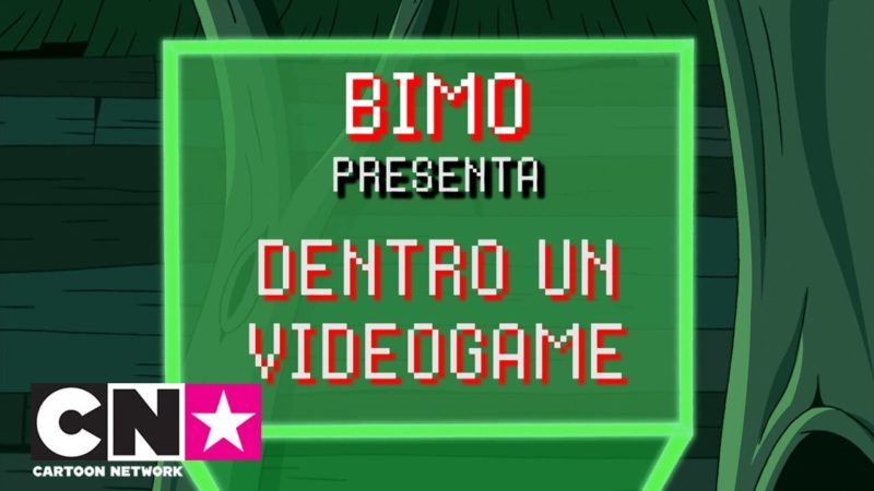 Dentro un videogame | Bimo presenta | Cartoon Network Italia
