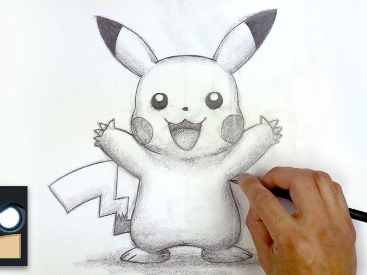 Comment dessiner Pikachu | Sketch samedi