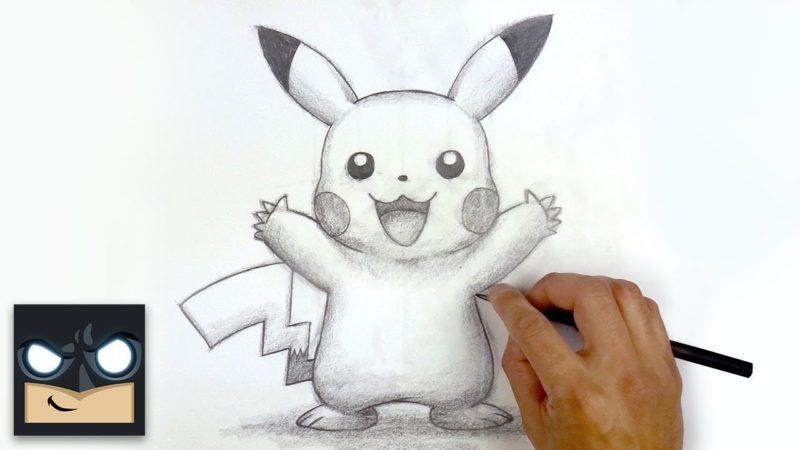 Как нарисовать Пикачу | Эскиз Суббота