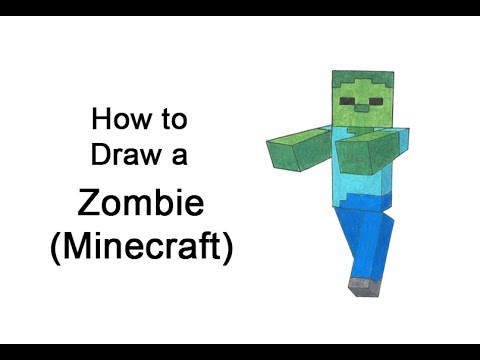 Comment dessiner un zombie de Minecraft