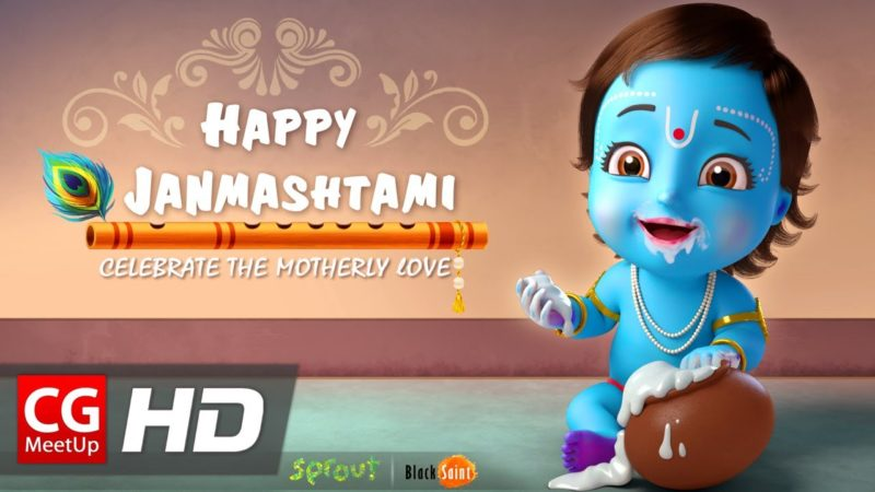 CGI Animated Spot: Krishna Janmashtami Wishes door Sprout, Black Saint, Aman | CGMeetup