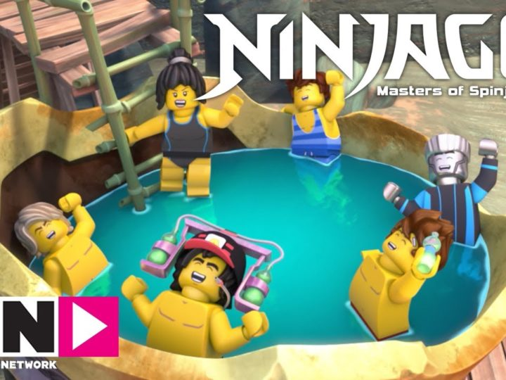 Mai abbassare la guardia | Ninjago | Cartoon Network Italia