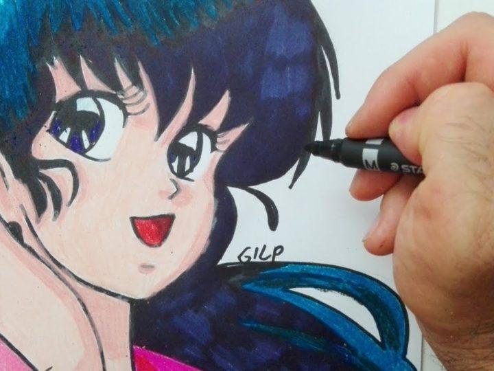 Come disegnare Kyoko di Maison Ikkoku