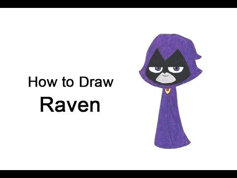 Come disegnare Raven (Teen Titans Go!)