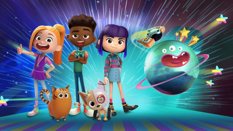 "Studio 100 och T&B Media Global tar fart med ""FriendZSpace"""