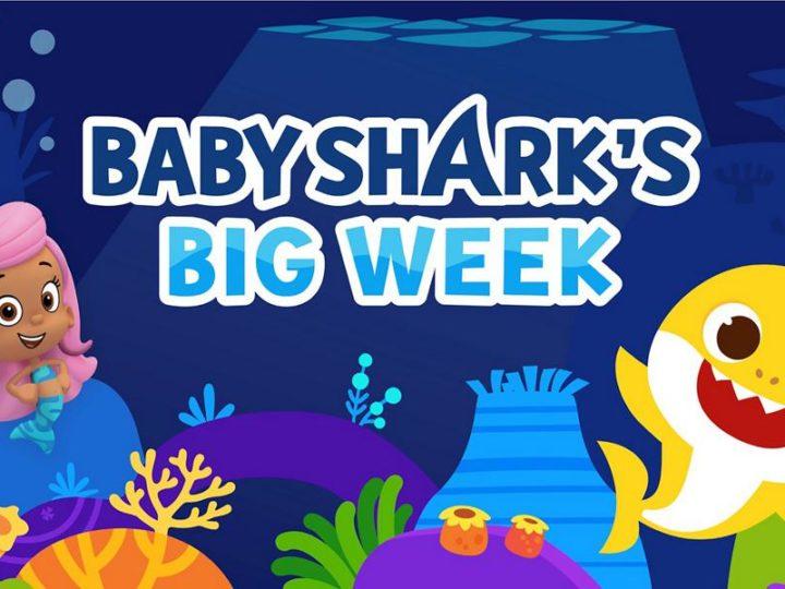 "Nickelodeon参加了10月14日至XNUMX日的""小鲨鱼大星期""潜水活动"