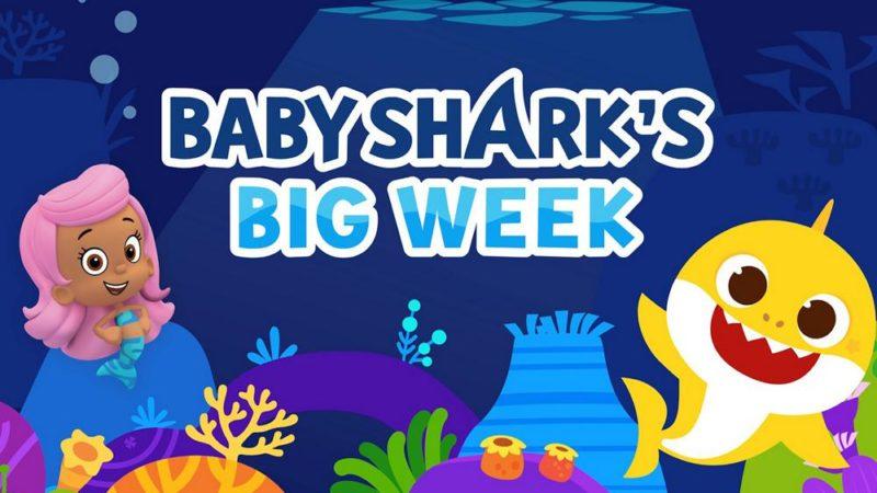 """Nickelodeon taucht vom 10. bis 14. August mit """"Baby Shark's Big Week"""" ab"""