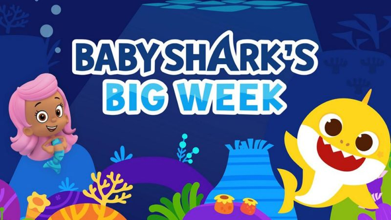 "Nickelodeon plonge avec ""Baby Shark's Big Week"" du 10 au 14 août"