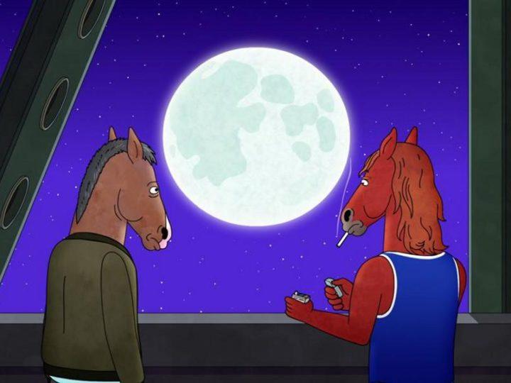 """Ein Clip aus der Erwachsenen-Animationsserie """"BoJack Horseman"""", die auf Netflix ausgestrahlt wird"""