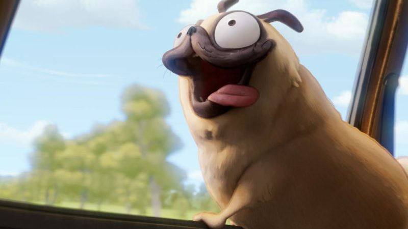 Casting canino: Sony adotta Doug The Pug come Monchi di Connected