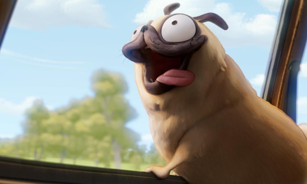 Casting canino: Sony adotta Doug The Pug come Monchi di Connected