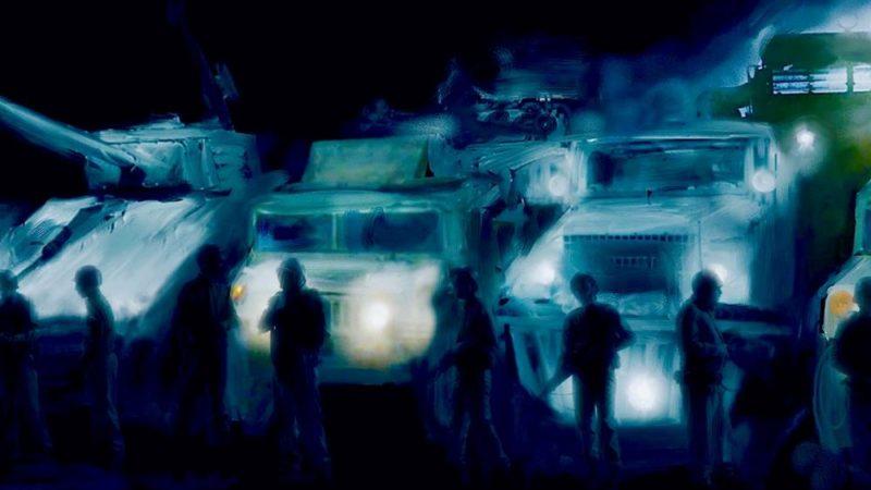 """Impressioni di guerra: l'animazione di Martyn Pick aggiunge uno stile pittorico a """"Coup 53"""""""