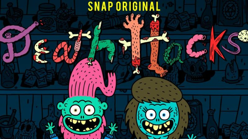 "Su Snapchat fa il suo debutto la commedia horror ""Death Hacks"""