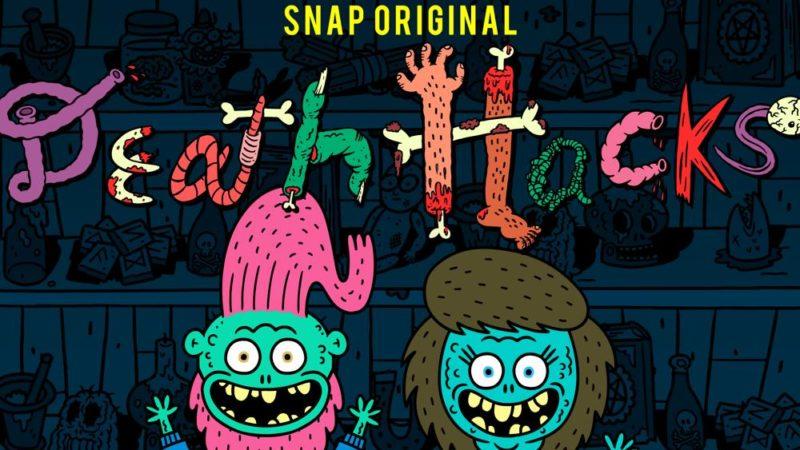 """공포 코미디 """"Death Hacks""""가 Snapchat에서 데뷔"""