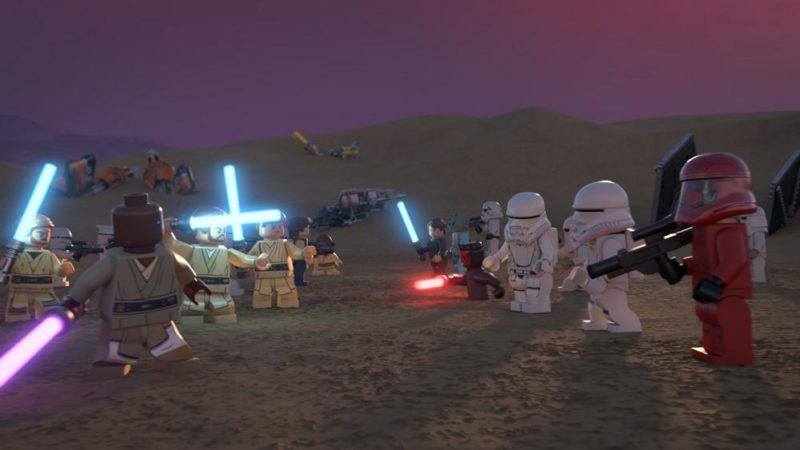 "Disney + celebra con ""LEGO Star Wars Holiday Special"""
