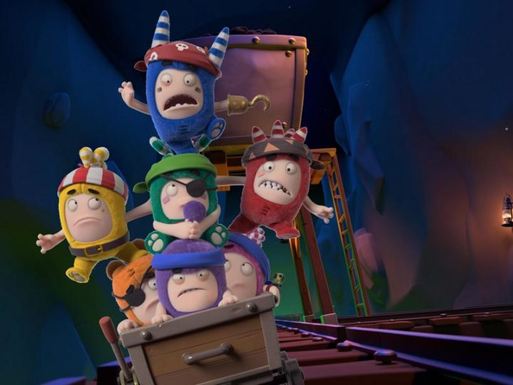 """Un'animazione imposta lo speciale di Halloween di """"Oddbods"""" e lancia il concorso di fan art"""