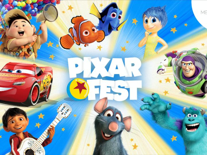 Disney lanceert het Pixar Fest