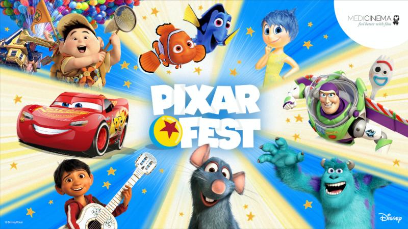 Disney lancia il Pixar Fest