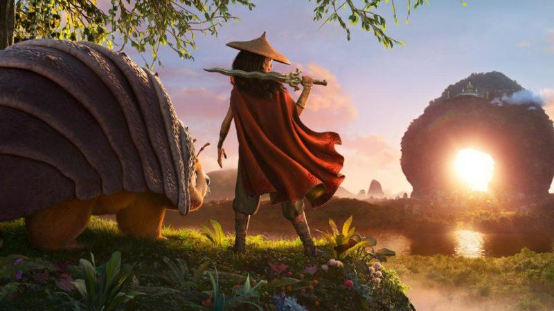 """Revelou as primeiras imagens de """"Raya e o Último Dragão"""", o próximo filme da Disney"""