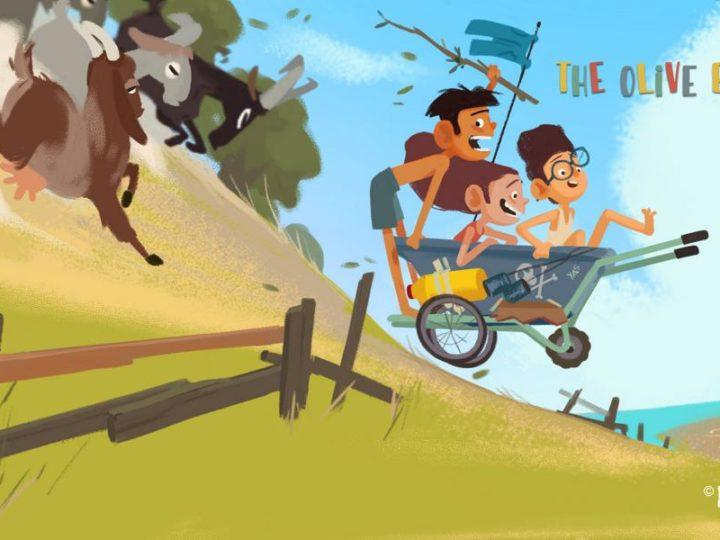 'The Olive Bunch', die Zeichentrickserie in Zypern, sucht Finanziers für das Projekt