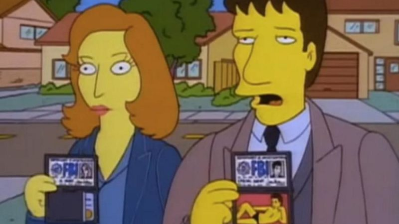 "Den animerade serien av ""X-Files"""