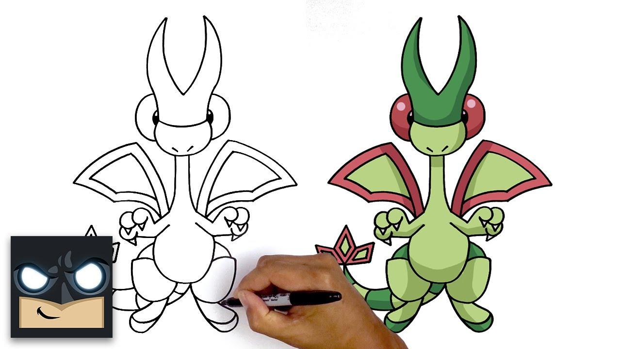 Come disegnare Flygon | Pokemon