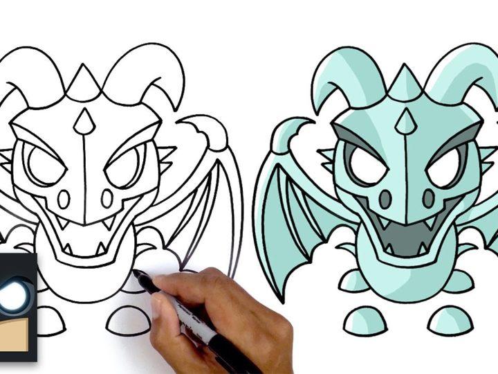 फ्रॉस्ट ड्रैगन कैसे आकर्षित करें | Roblox मुझे अपनाएं