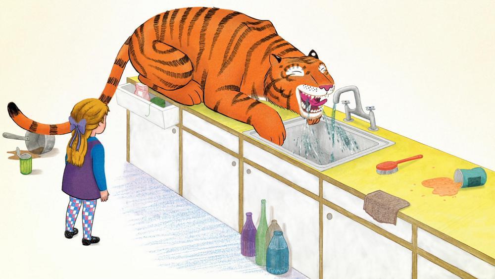 La tigre che è venuta per il tè