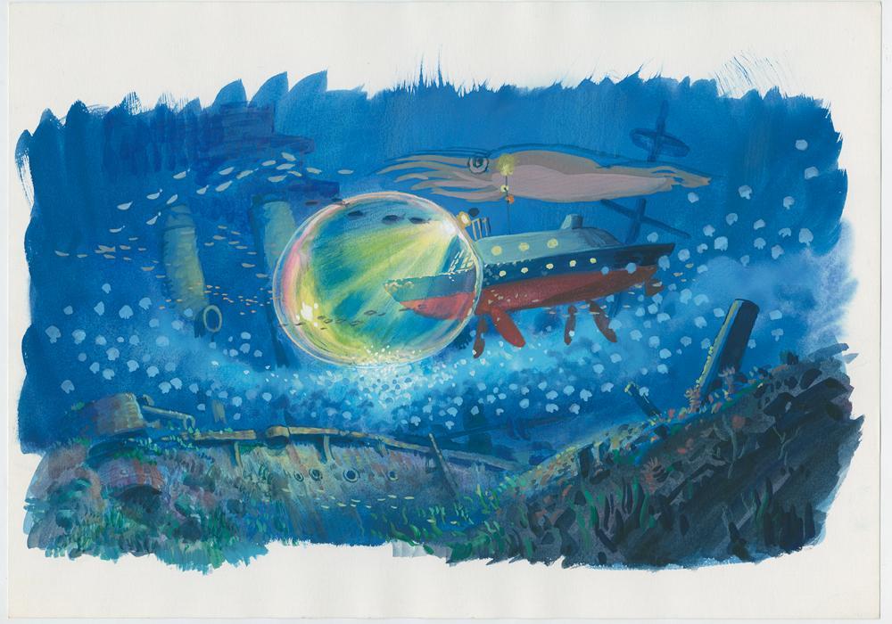 Immagine di produzione, Ponyo © 2008 Studio Ghibli