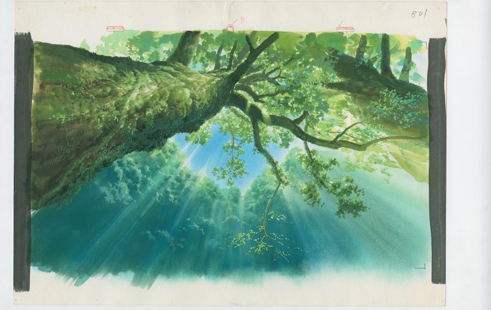 Sfondo, Principessa Mononoke © 1997 Studio Ghibli