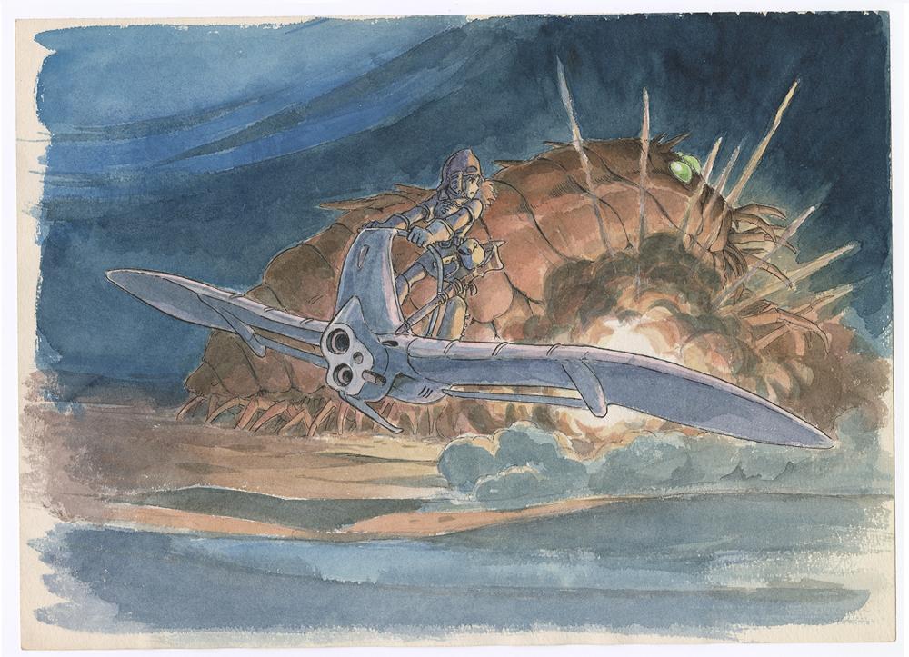 Nausicaä della Valle del Vento © 1984 Studio Ghibli
