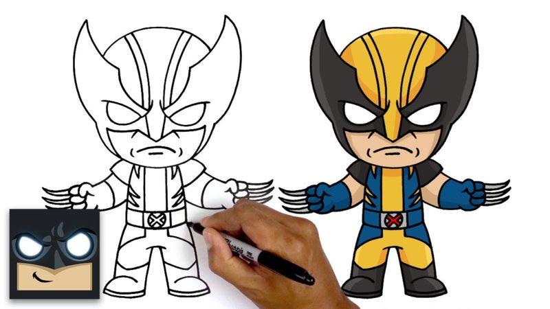 Hur man ritar Wolverine | Fortnite kapitel 4