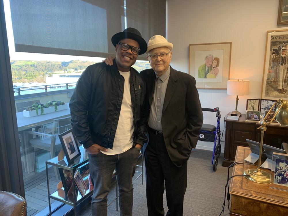 Erick Peyton e Norman Lear