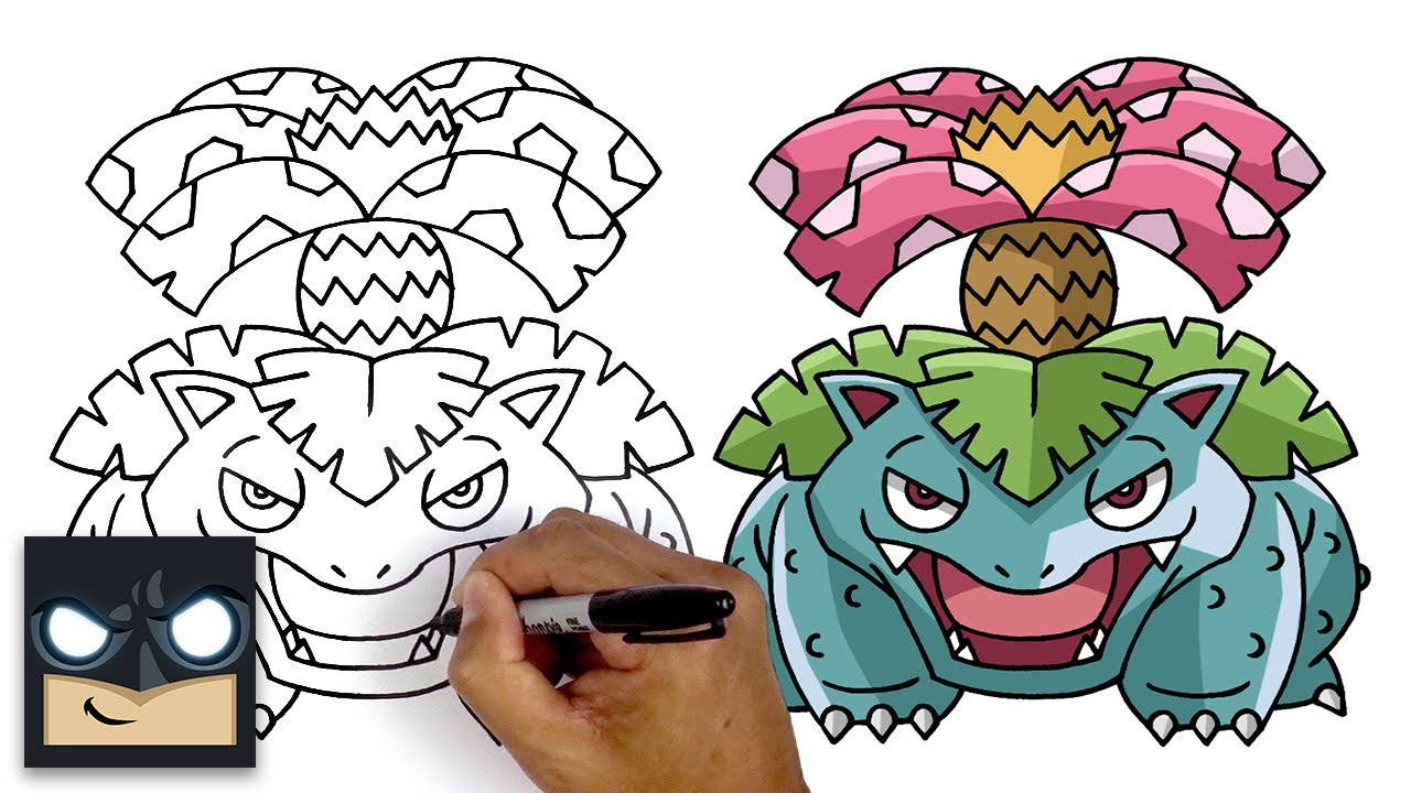 Come disegnare Venusaur | Pokemon