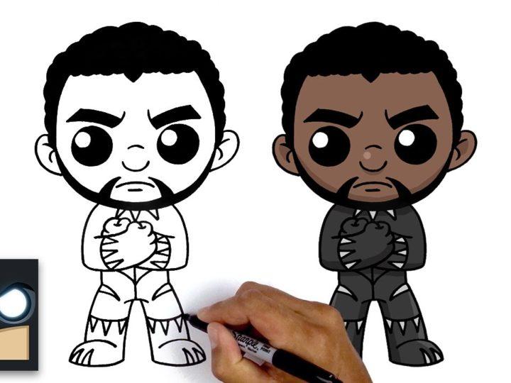 Black Panther를 그리는 방법