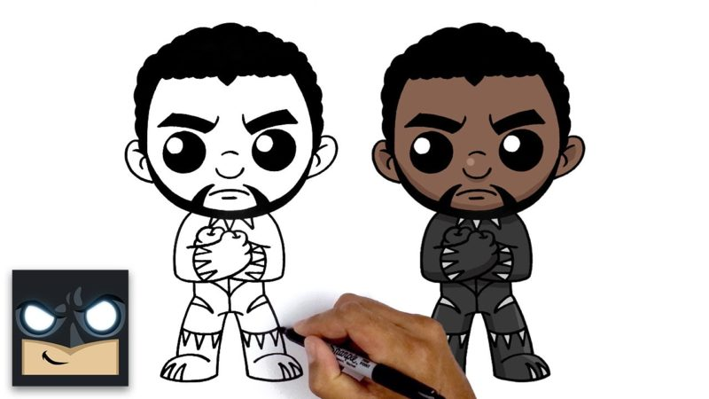 Come disegnare Black Panther