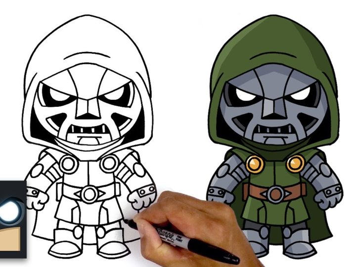 Come disegnare Doctor Doom | Fortnite