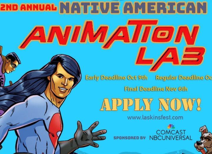 Al doilea laborator anual de animație nativ american deschis pentru aplicații