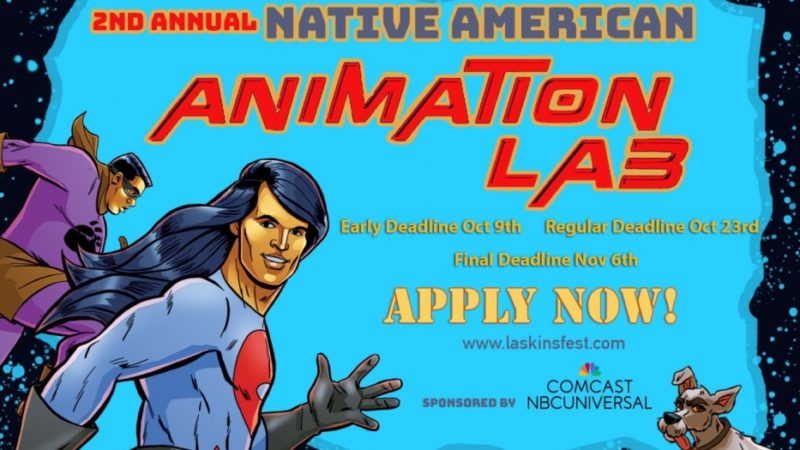 제 2 회 연례 아메리카 원주민 애니메이션 연구소가 응용 프로그램을 위해 열립니다