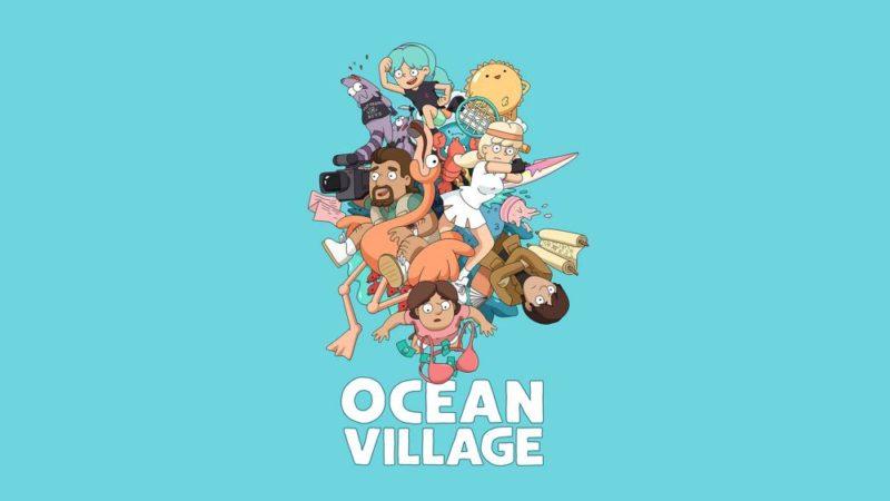 """Den mångkulturella familjesitcom """"Ocean Village"""""""