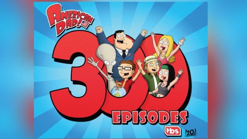 'Amerikansk pappa!' Det 300: e avsnittet har premiär på måndagen på TBS