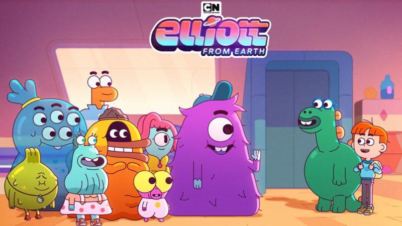 """Cartoon Networks """"Elliott from Earth"""" förhandsvisningsspår"""