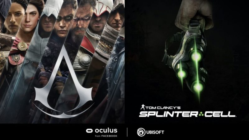 "Ubisoft annuncia i giochi VR ""Assassin's Creed"" e ""Tom Clancy's Splinter Cell"""