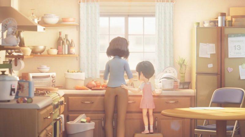 """""""लेट्स ईट"""" एनीमोन स्टूडियो द्वारा एनिमेटेड लघु फिल्म क्लाउड में बनाई गई है"""