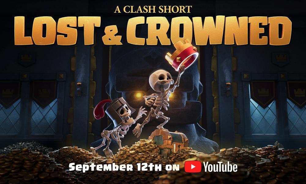 """Il cortometraggio di Clash of Clans """" Lost & Crowned"""""""