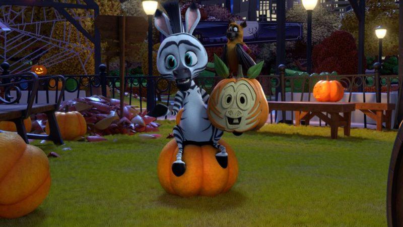 """Trailern för den nya animerade serien """"Madagaskar: A Little Wild &"""" för den läskiga Halloween"""