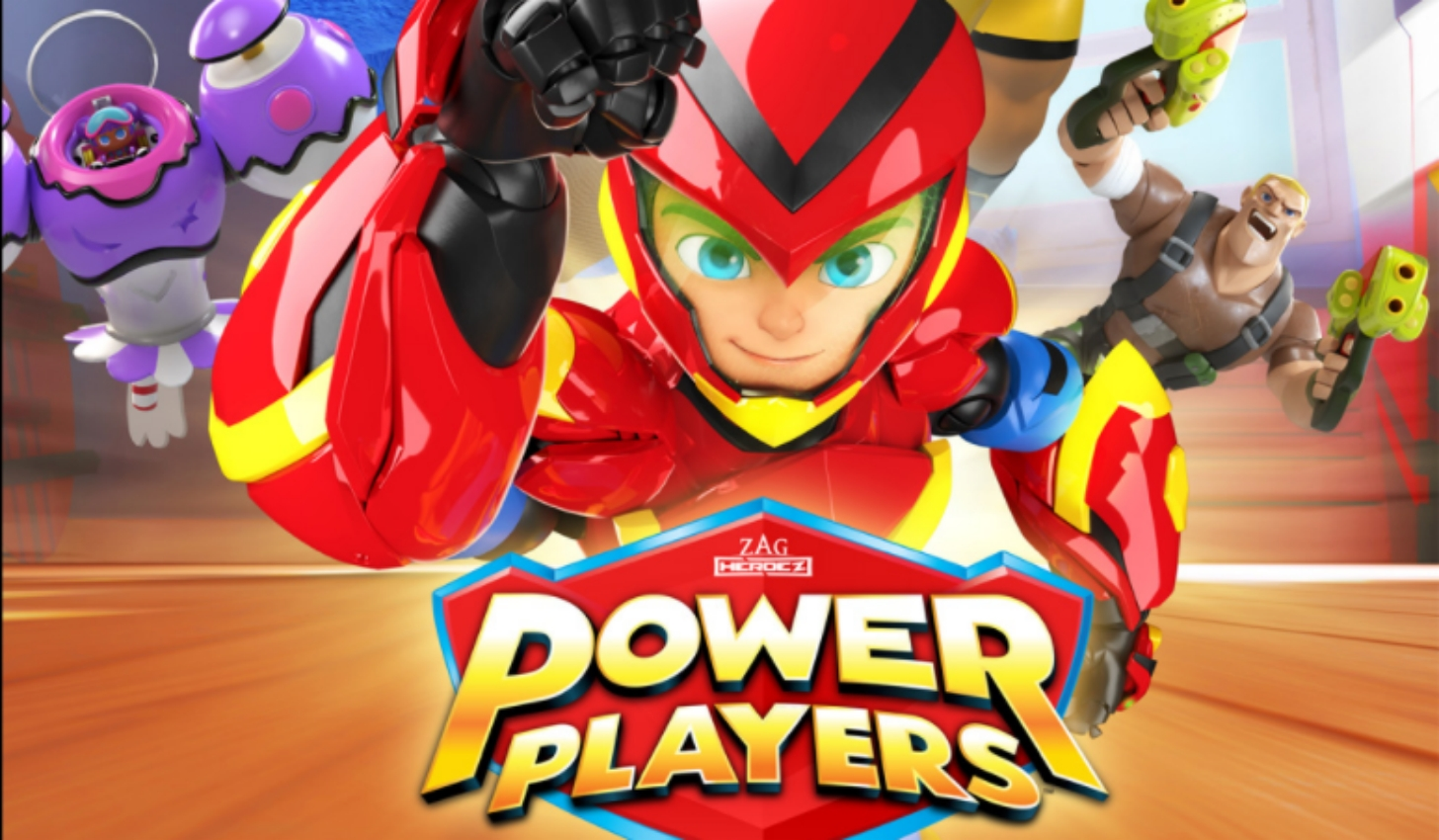 Power Players - La serie animada en Cartoonito