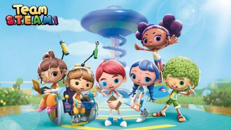 """""""Team S.T.E.A.M.!"""" la nuova serie animata della Winsing Animation"""