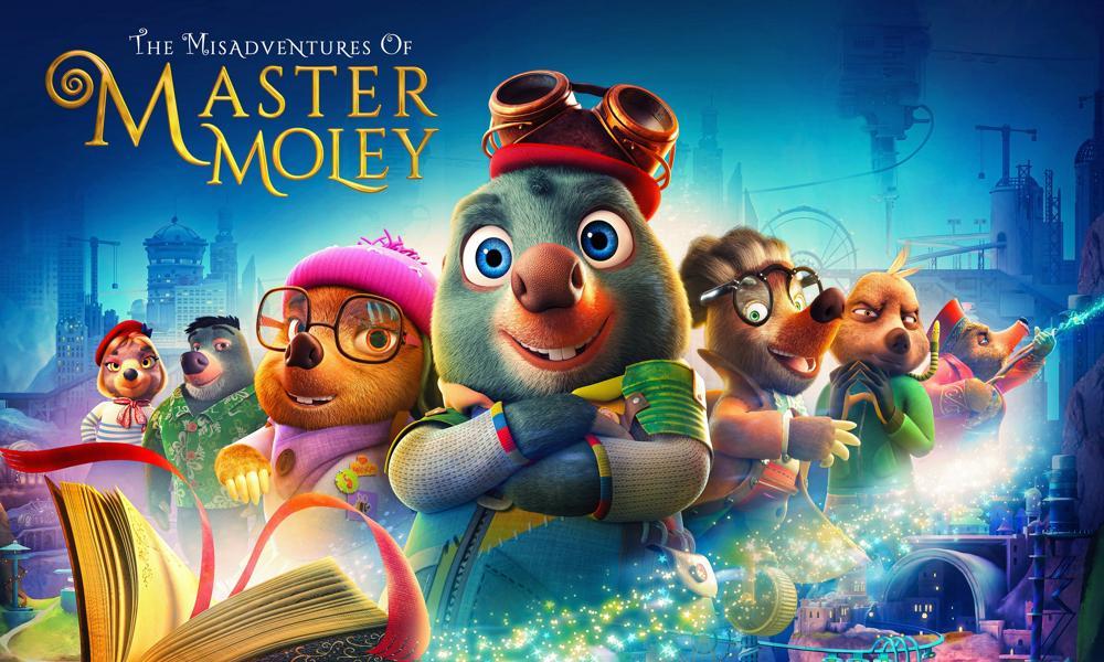Serie speciale e nuovissima di 'Master Moley'  su Boomerang nel 2021