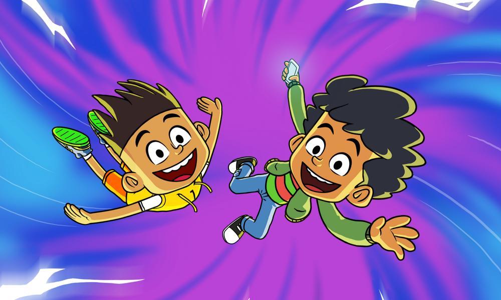 Nickelodeon International  e Nickelodeon India collaborano per 'The Twisted Timeline of Sammy & Raj'